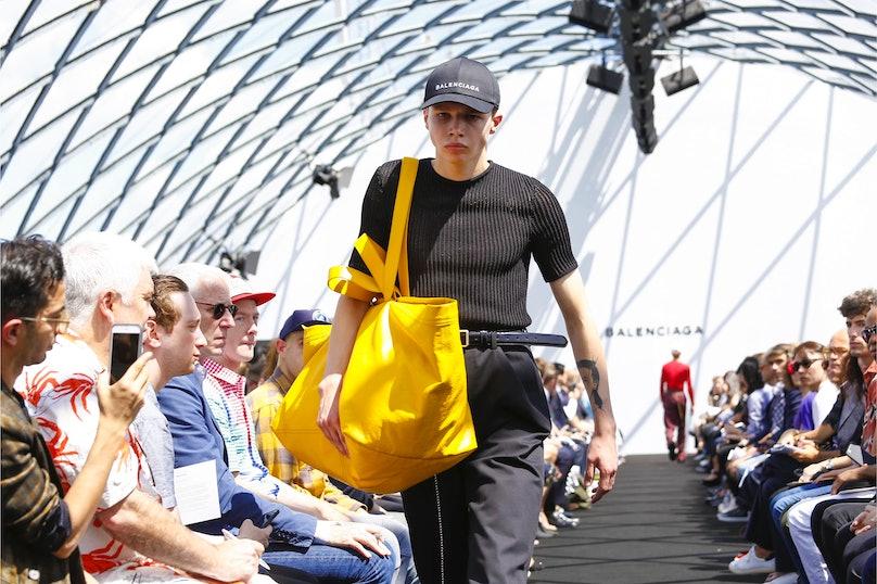 Balenciaga Paris Men's Fashion Week Spring 2017