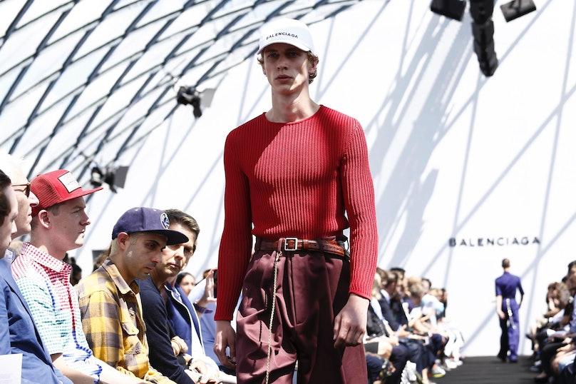 Balenciaga Menswear Spring Summer 2017 Collection in Paris