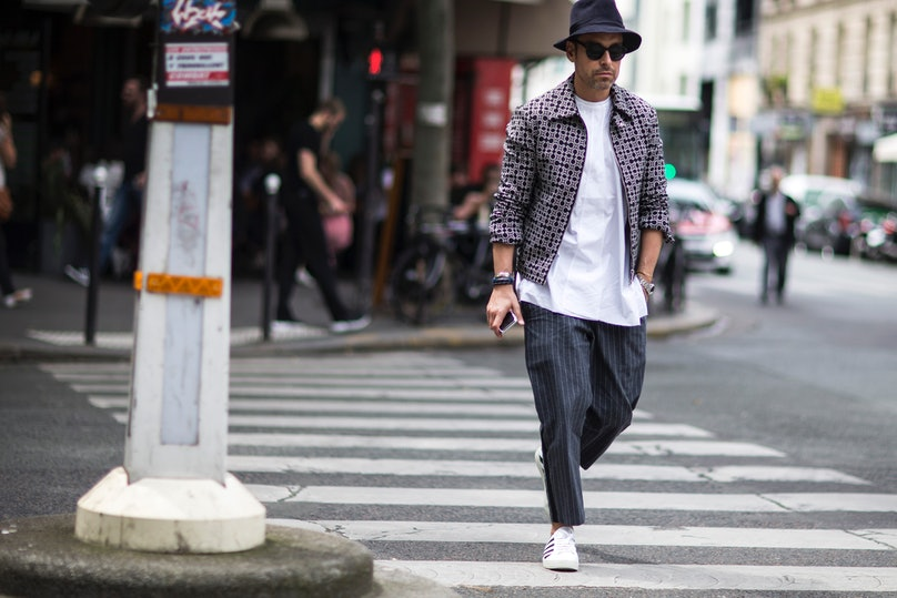 Paris Men's Street Style Spring 2017 Day 1