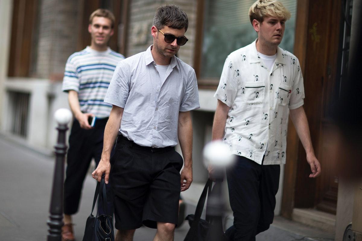 Paris Men's Street Style Spring 2017 Day 1