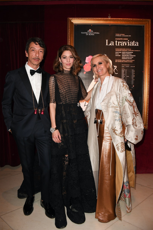 Pierpaolo Piccioli, Sofia Coppola, Maria Grazia Chiuri