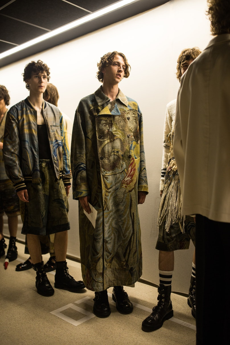 Dries Van Noten Paris Men's Fashion Week Spring 2017
