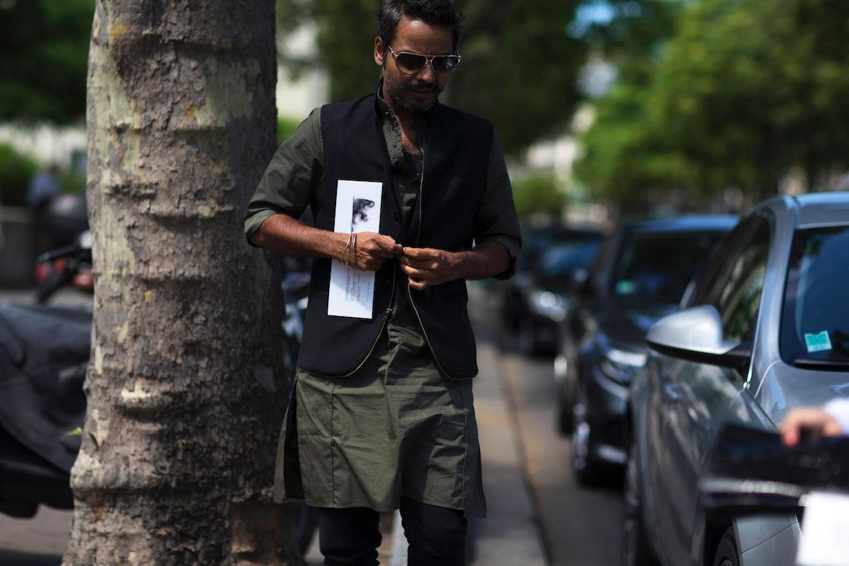 Paris Men's Street Style Spring 2017