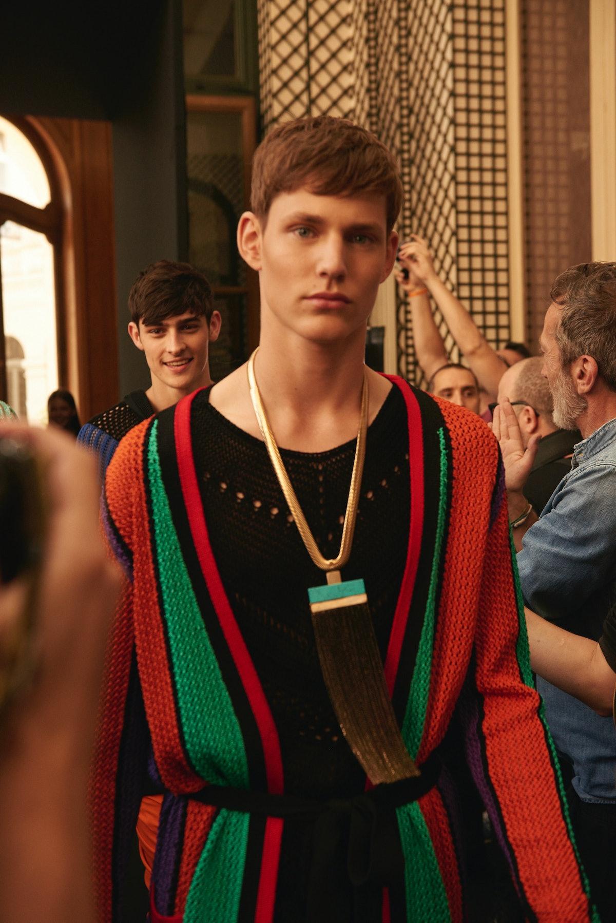 Balmain Paris Men's Fashion Week Spring 2017