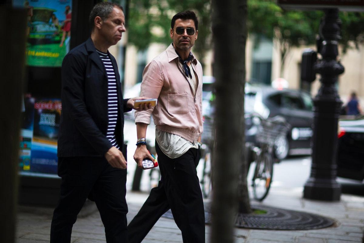 Paris Men's Street Style Spring 2017 Day 5