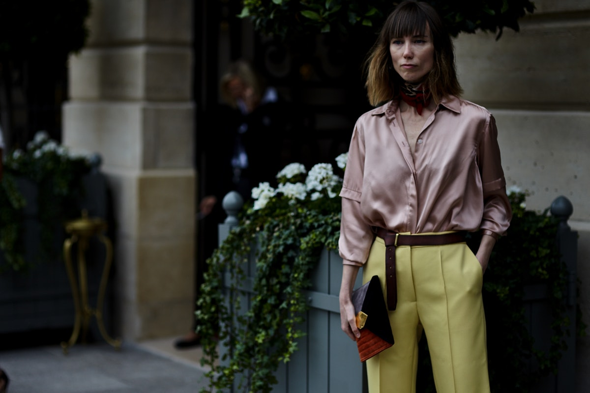 Paris Haute Couture Street Style Fall 2017