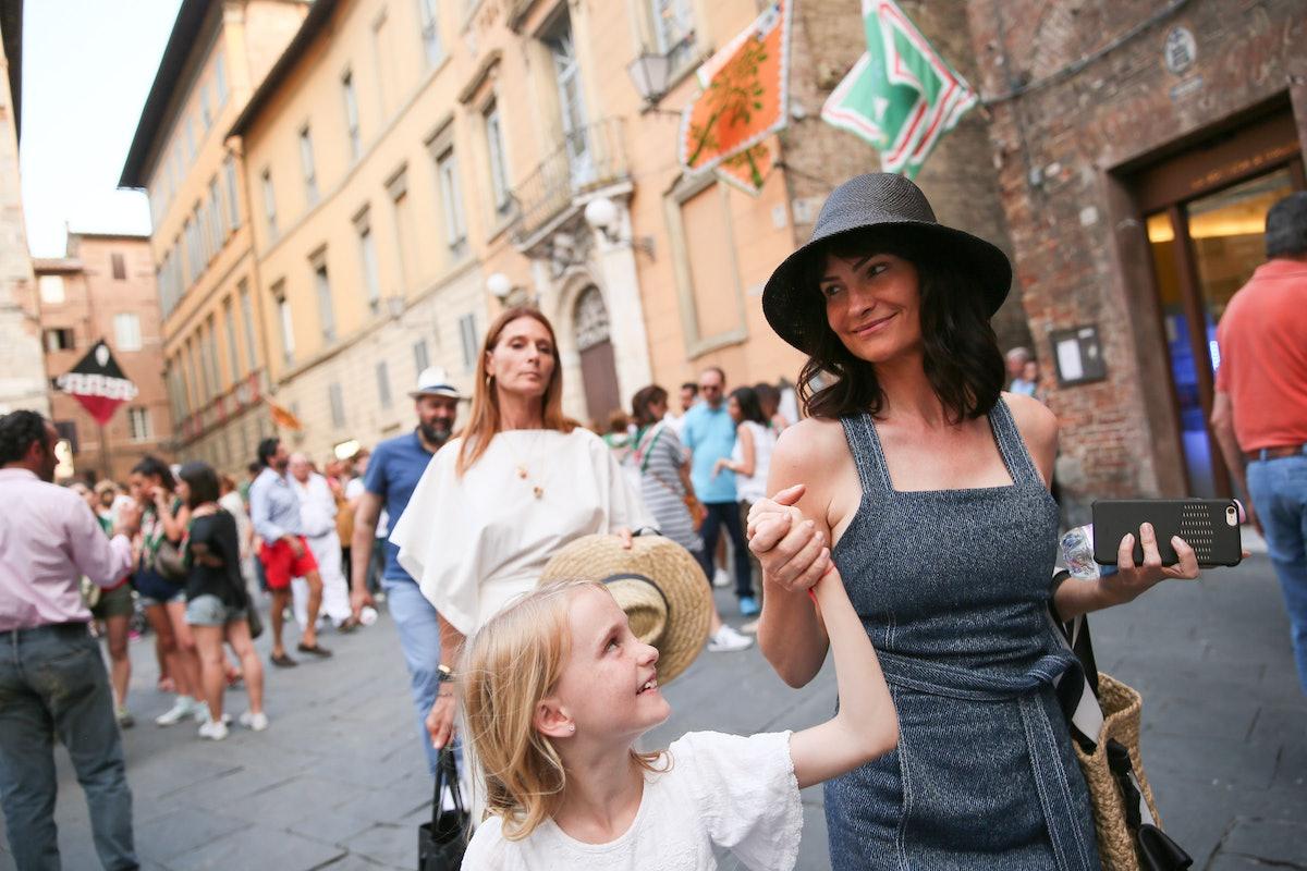 Rosetta Getty: at Palio di Siena