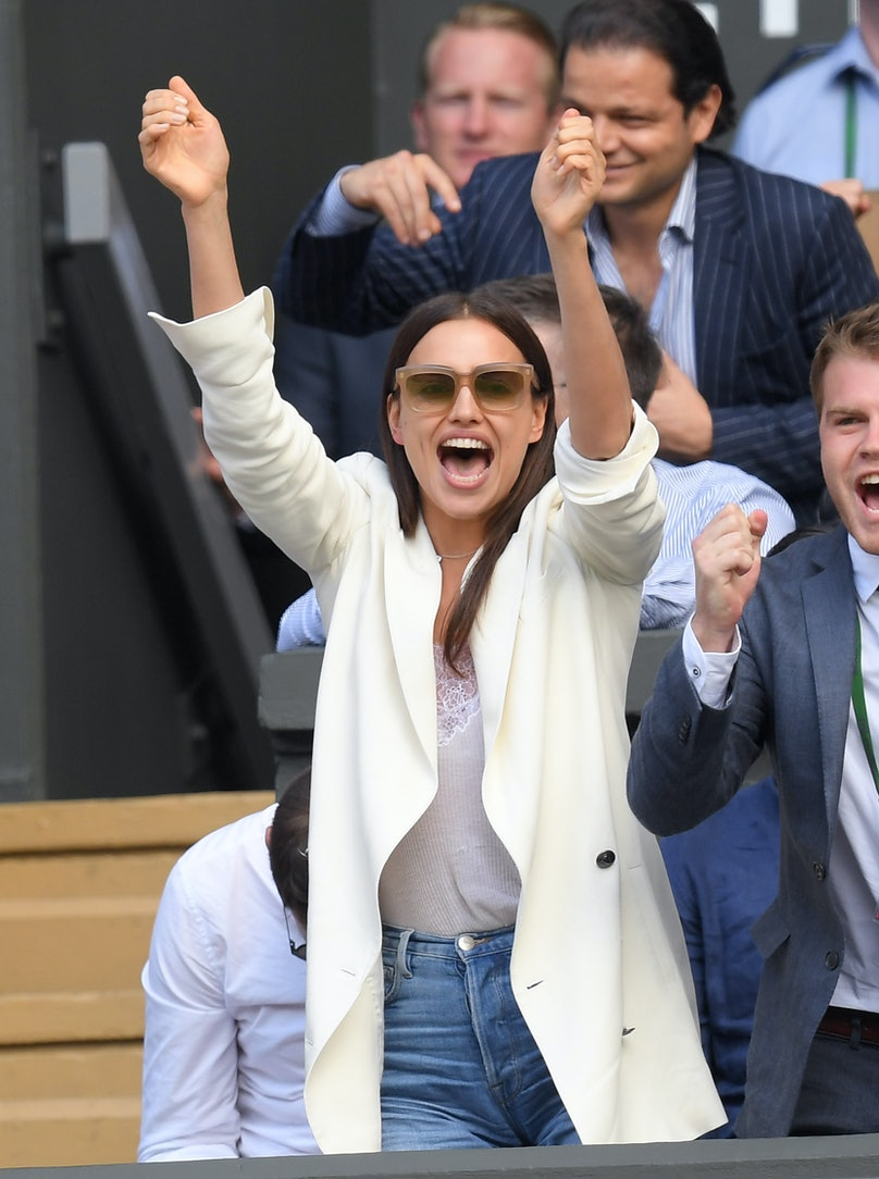 Celebrities Attend Wimbledon 2016