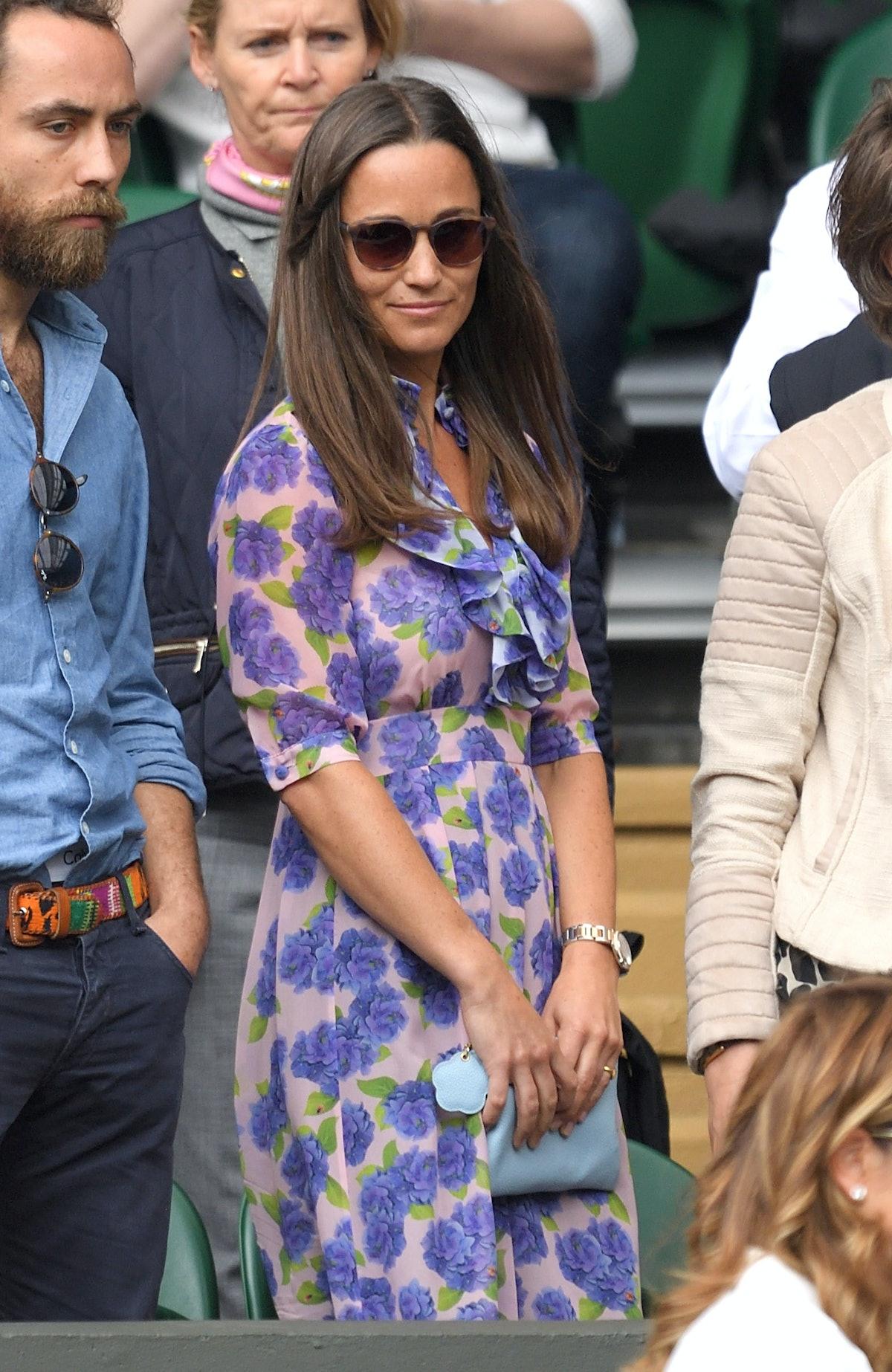 Celebrities Attend Wimbledon 2016