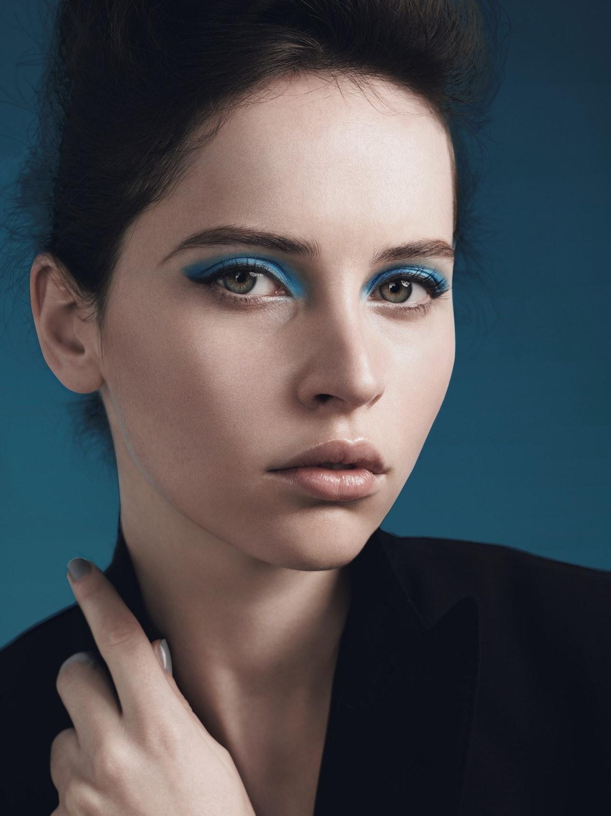 Dolce & Gabbana's wool-blend blazer. Dolce & Gabbana Perfect Finish Creamy Foundation in Bisque; Smo...