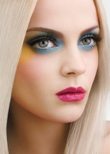 MAC Cosmetics Beth Ditto Collection Powder to the People on eyes and cheeks; False Lashes mascara in...