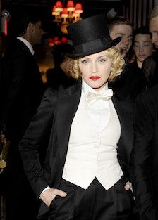 DOLCE & GABBANA and THE CINEMA SOCIETY host the after party for the EPIX WORLD PREMIERE of MADONNA: ...