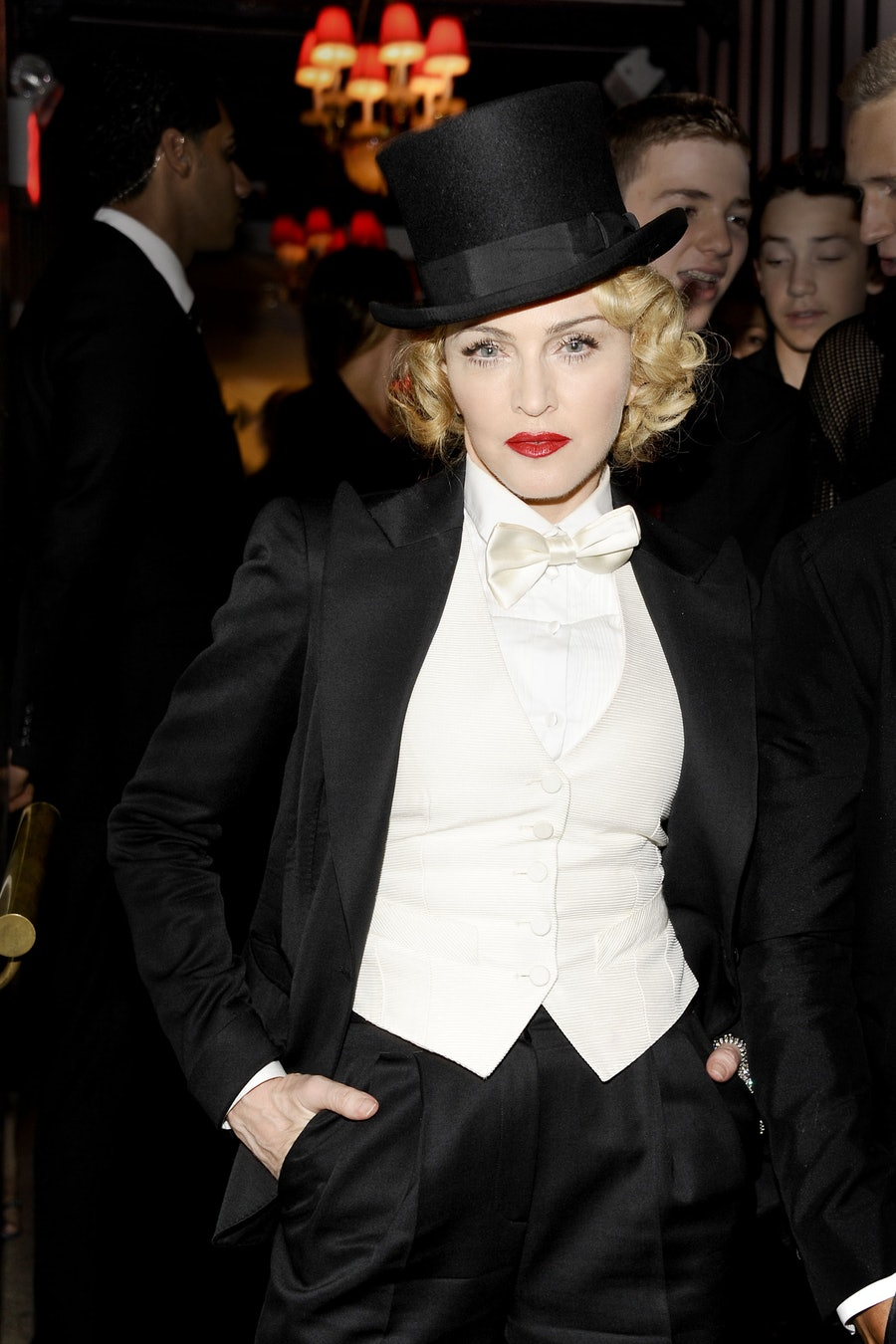 DOLCE & GABBANA and THE CINEMA SOCIETY host the after party for the EPIX WORLD PREMIERE of MADONNA: THE MDNA TOUR