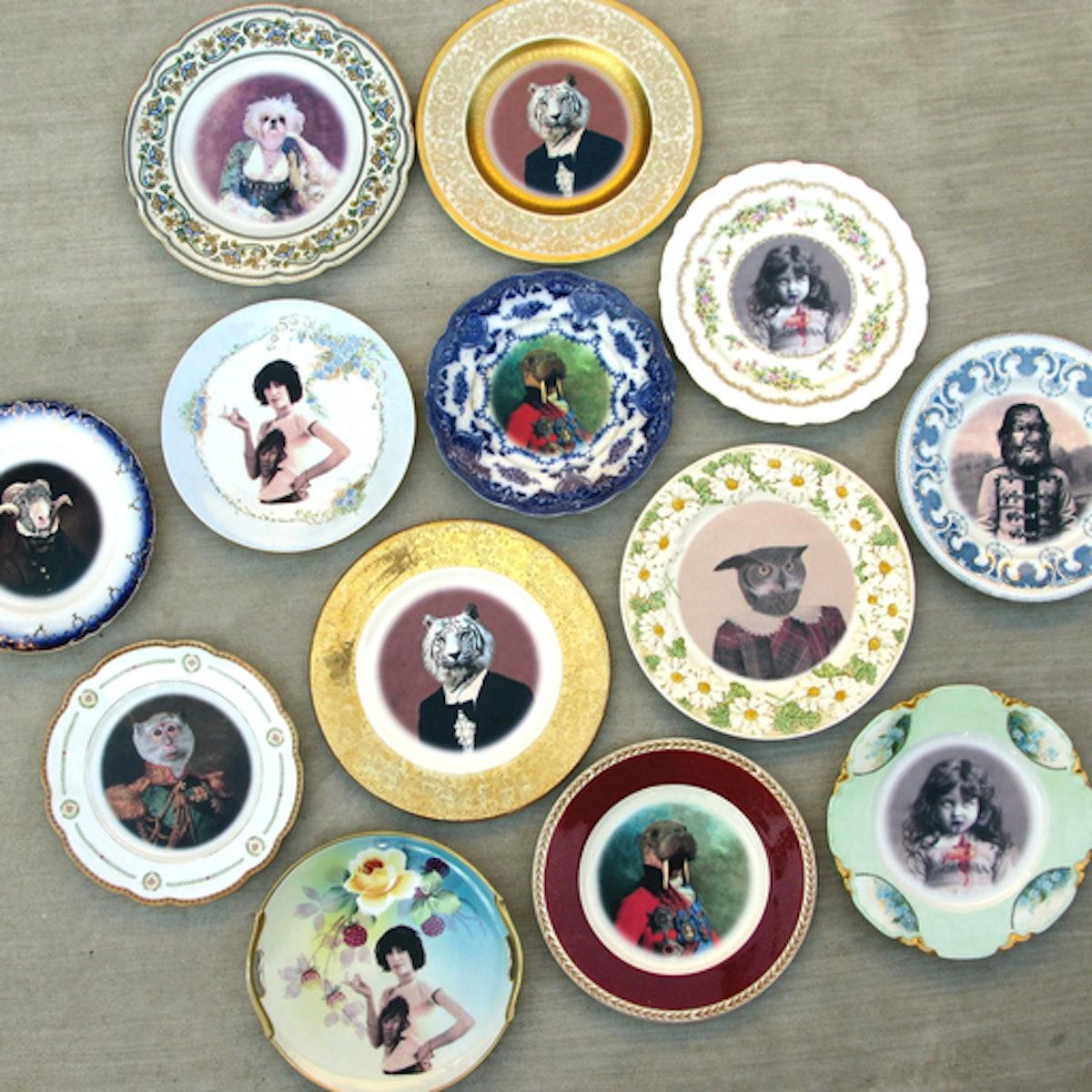 A&G Merch Antique Plates