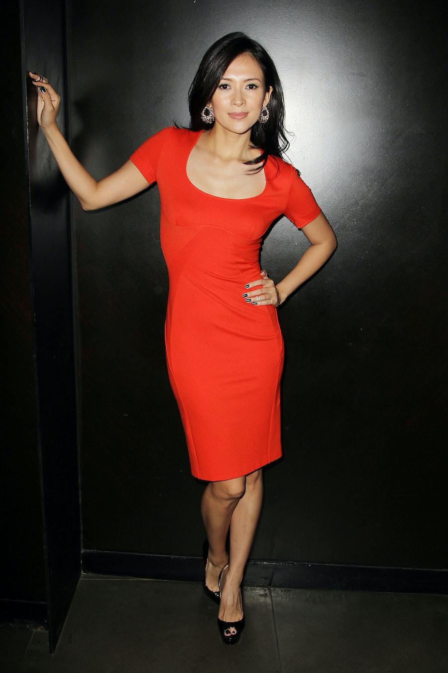 Ziyi Zhang in Stella McCartney