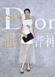 Chinese actress Ni Ni. Photo by Luc Castel.