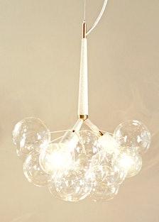 Pelle Bubble Chandelier, $1,800; pelledesigns.com