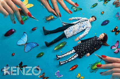 Kenzo's fall 2013 ad campaign