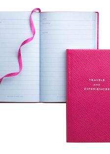 Smythson notebook, $80; smythson.com