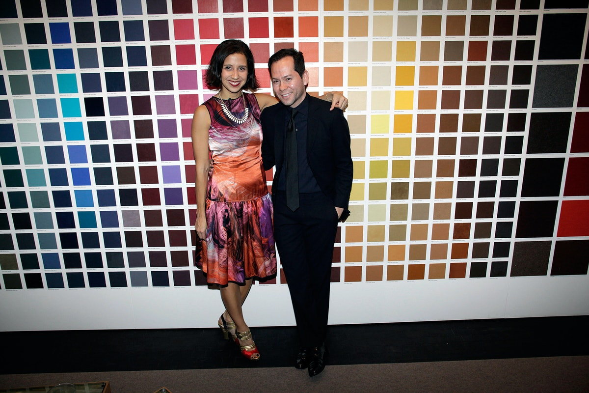 Karla Martinez de Salas and Rolando Santana
