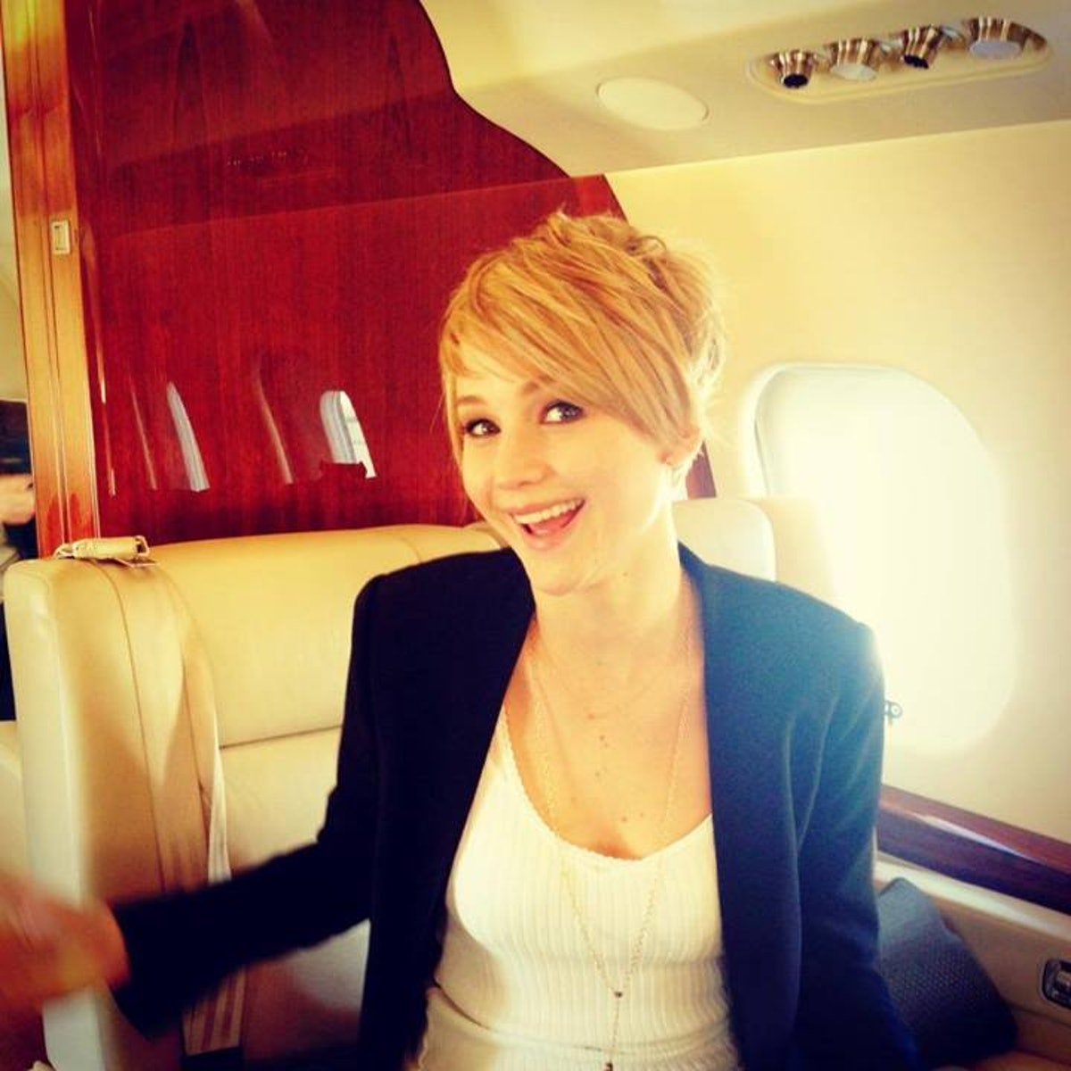 Jennifer Lawrence posted this image on her Facebook page.