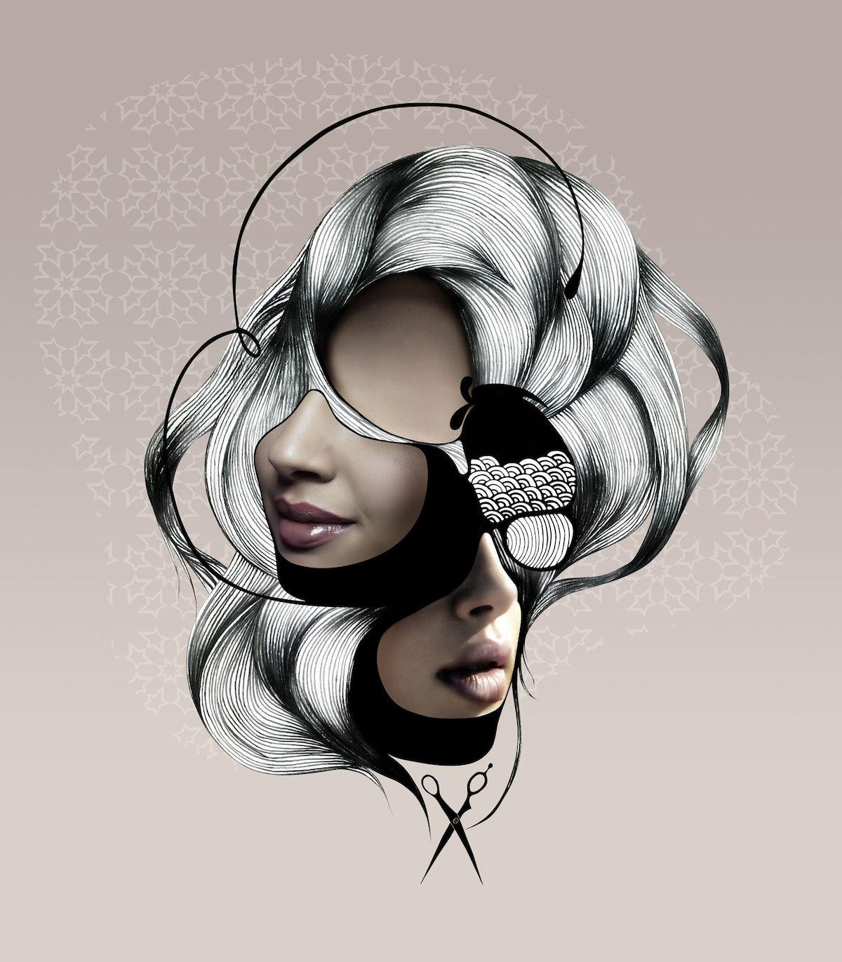 hair+veil-Wmagazine-geraldine-georges