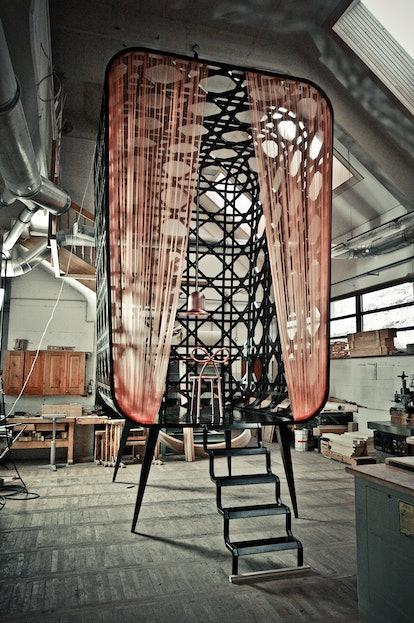 Slovenian artist Nika Zupanc's installation for Miss Dior