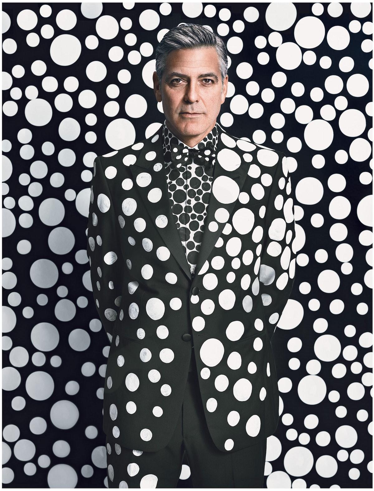 George Clooney Yayoi Kusama