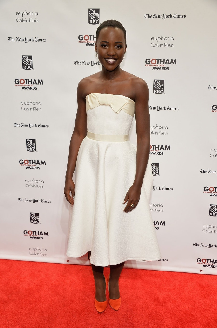 Lupita Nyong'o. Photo by Getty Images for IFP.