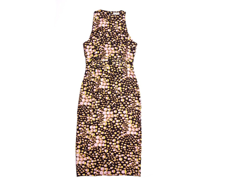 SUNO x The Webster Cut-Out Dress, $650; available at The Webster Miami, (305) 674-7899.