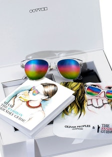 Oliver Peoples Braverman x The Fashion Guide, $550; available at The Webster.