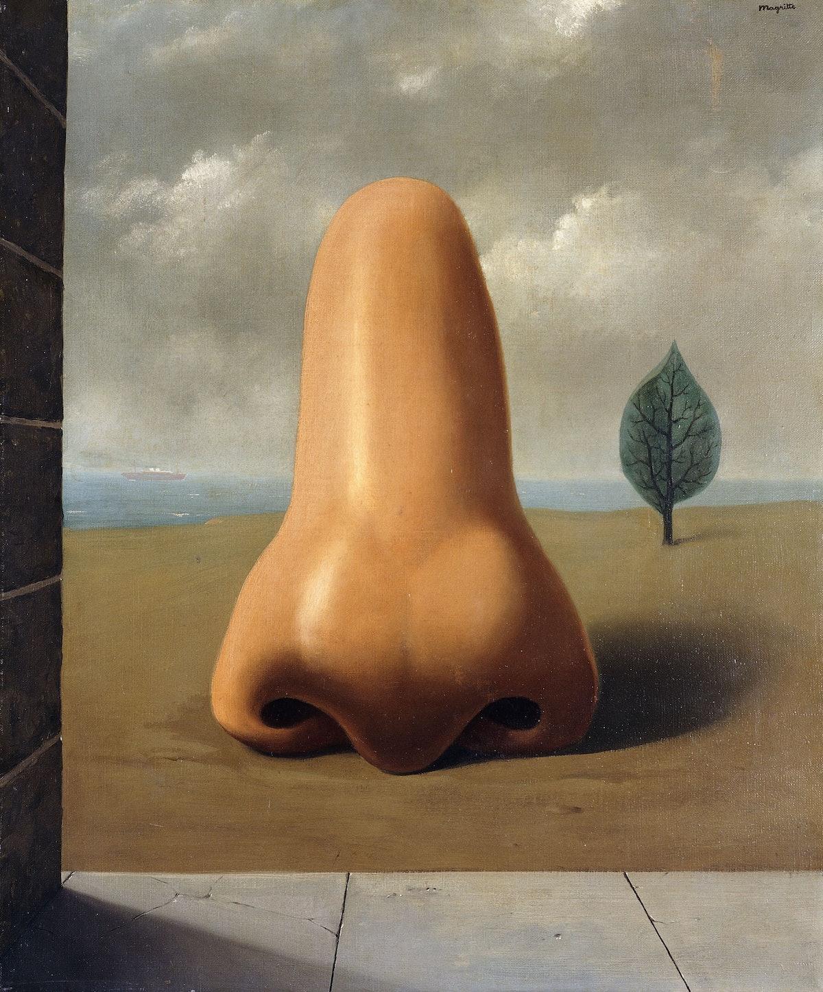Rene Magritte's *La Bonne Aventure*, 1937. Courtesy of Artist Rights Group.