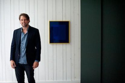 Brendan Dugan at Karma, his studio and gallery space in Manhattan's NoHo.