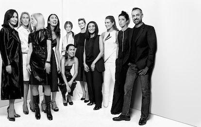 From left: Economist Marie-Josée Kravis, New Museum director Lisa Phillips, gallerist Angela Westwat...