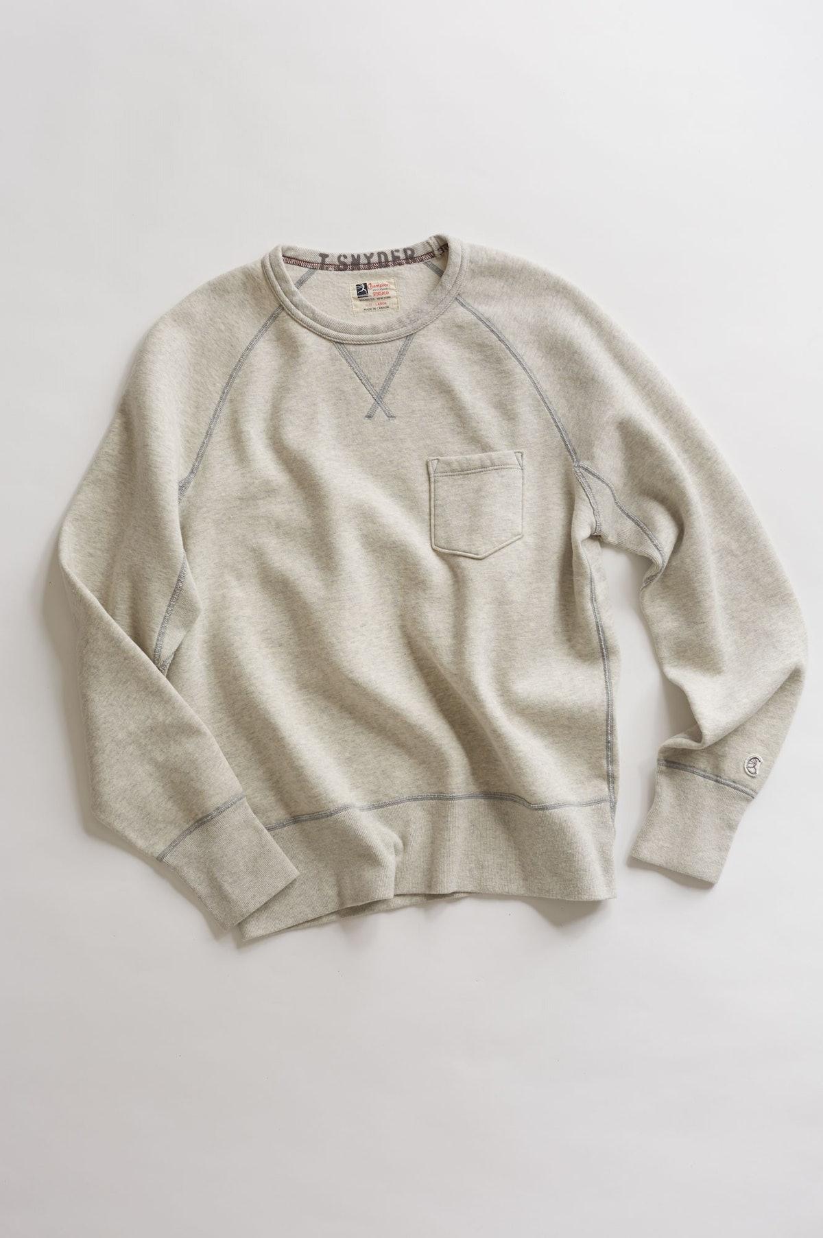 Pocket Sweatshirt, $130.
