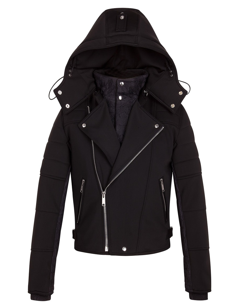 Sandro Fusalp jacket, $1210, available exclusively at Sandro, 181 Columbus Avenue, (212) 877-1900.