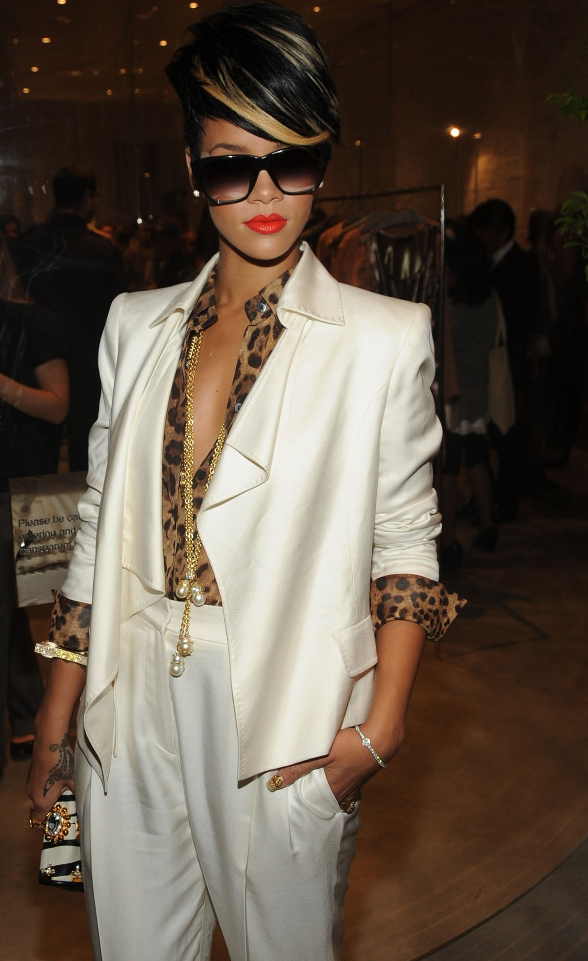 Rihanna. Photo by WWD/Steve Eichner.