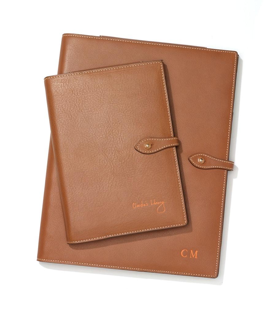 Kindle case, $530, iPad case, $635, Anya Hindmarch, 795 Madison Avenue, New York, 646.852.6233.