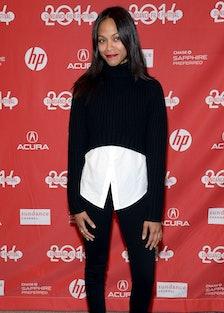 Zoe Saldana. Photo by Getty Images.