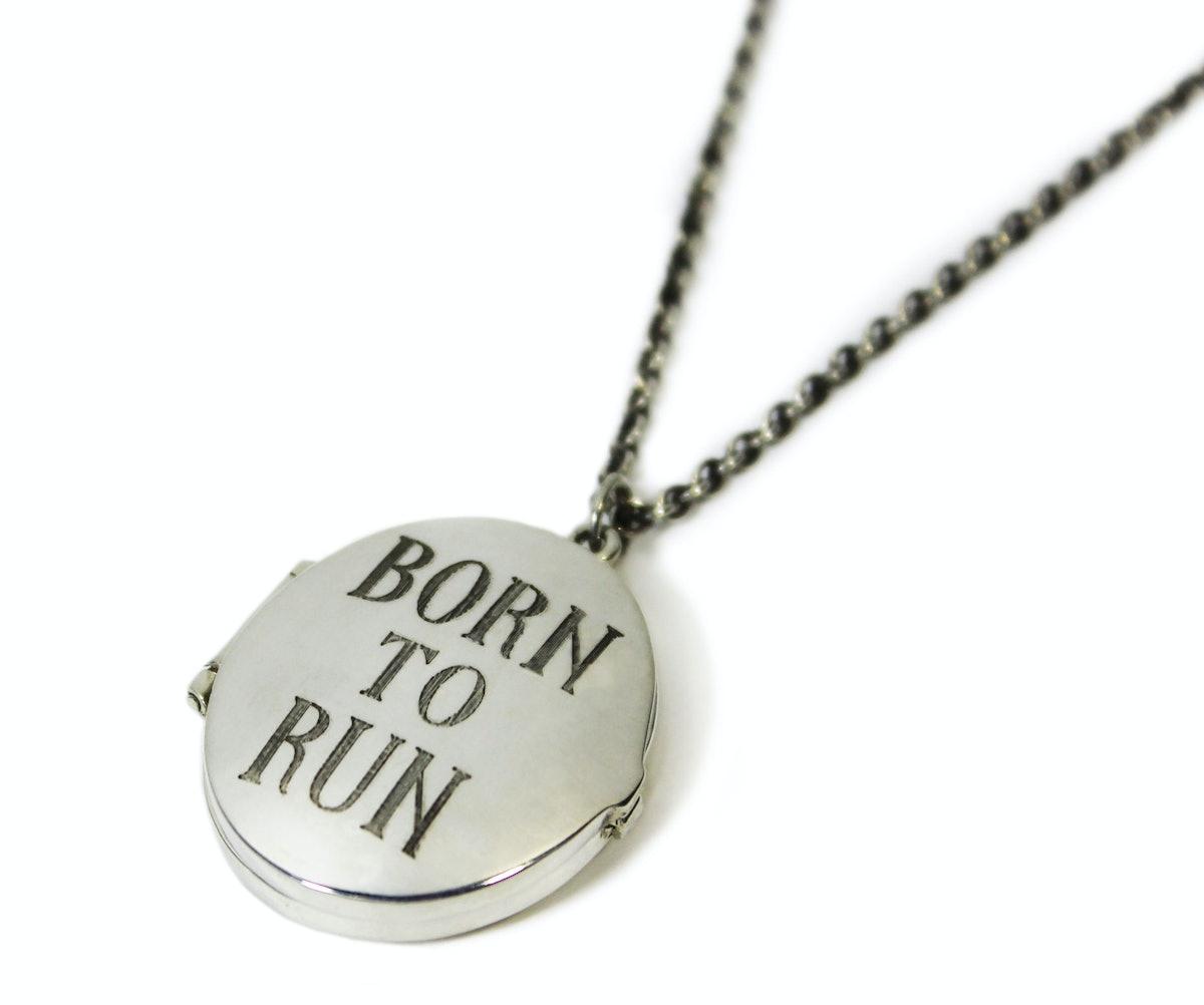 "Pamela Love ""Born to Run"" locket, $320, [pamelalovenyc.com](http://www.pamelalovenyc.com/collections/pamela-love/products/born-to-run-locket)."
