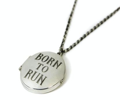 "Pamela Love ""Born to Run"" locket, $320, [pamelalovenyc.com](http://www.pamelalovenyc.com/collections..."