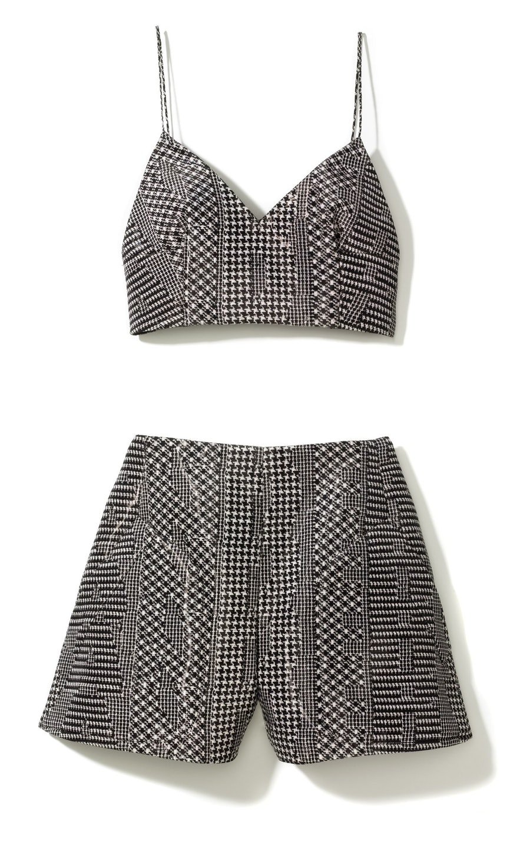 Alexander Wang camisole, $495, shorts, $650, [alexanderwang.com](http://rstyle.me/n/evz2c3w3n)