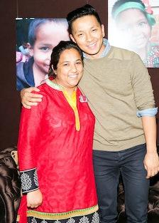 Pushpa Basnet and Prabal Gurung
