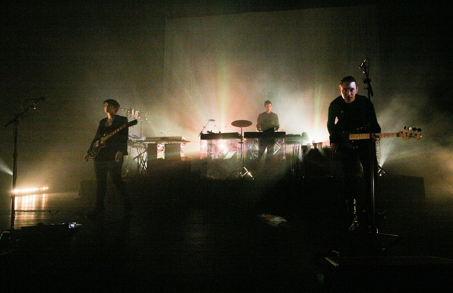 The xx performing.