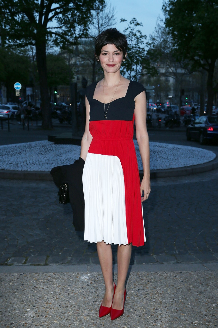 Audrey Tautou at the UNITAID party