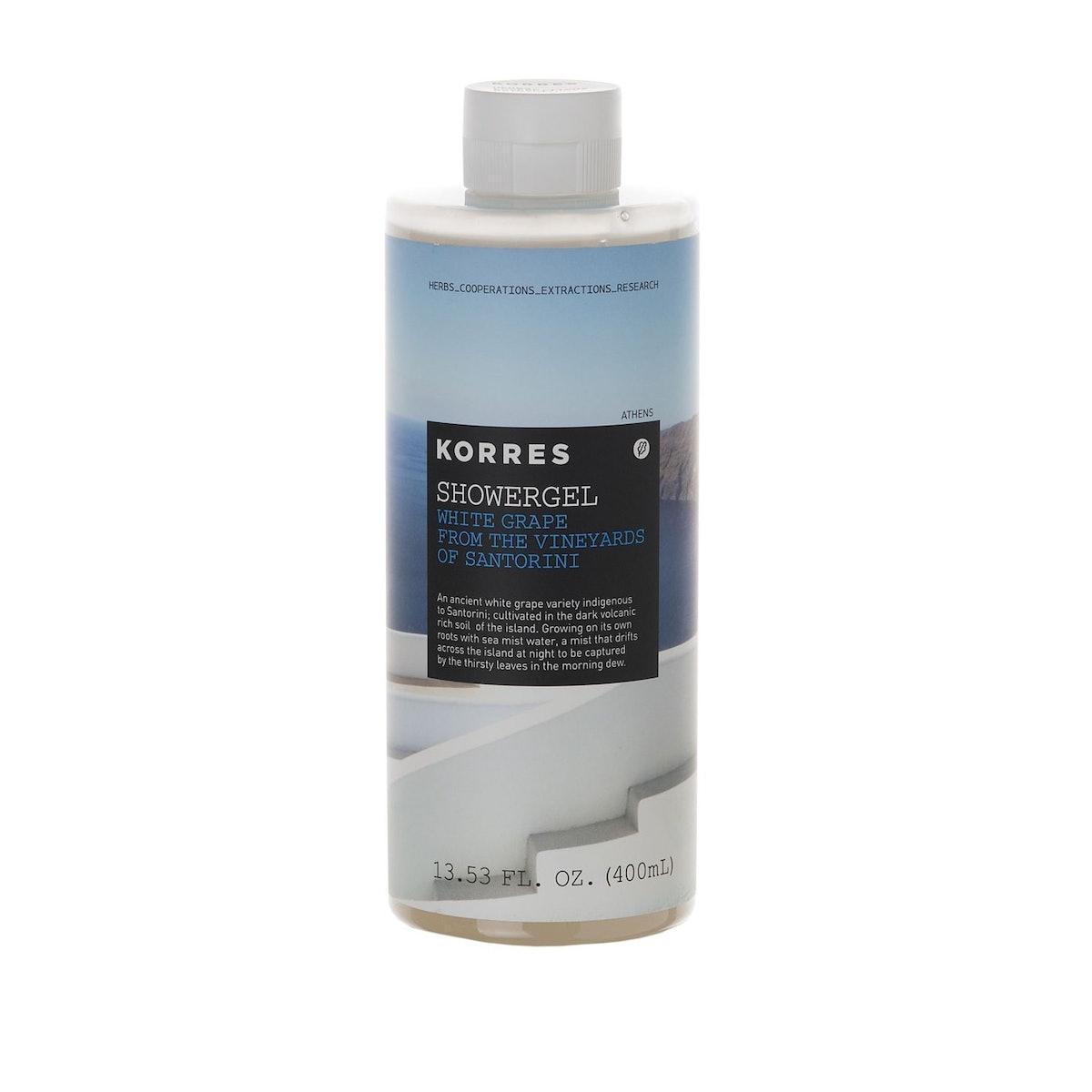 Korres White Grape Shower Gel