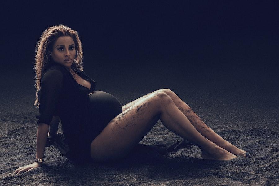 Ciara Pregnant Sand