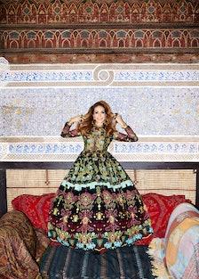 Marisa Berenson Valentino Dress
