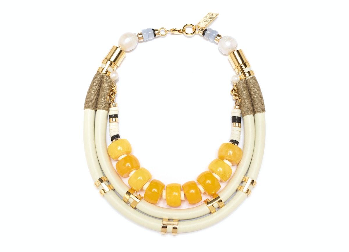 Lizzie Fortunato Fivestory Necklace
