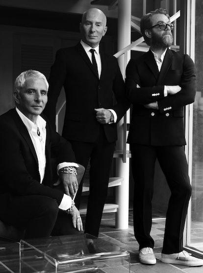 Thom Priano, Garren, and Howard McLaren